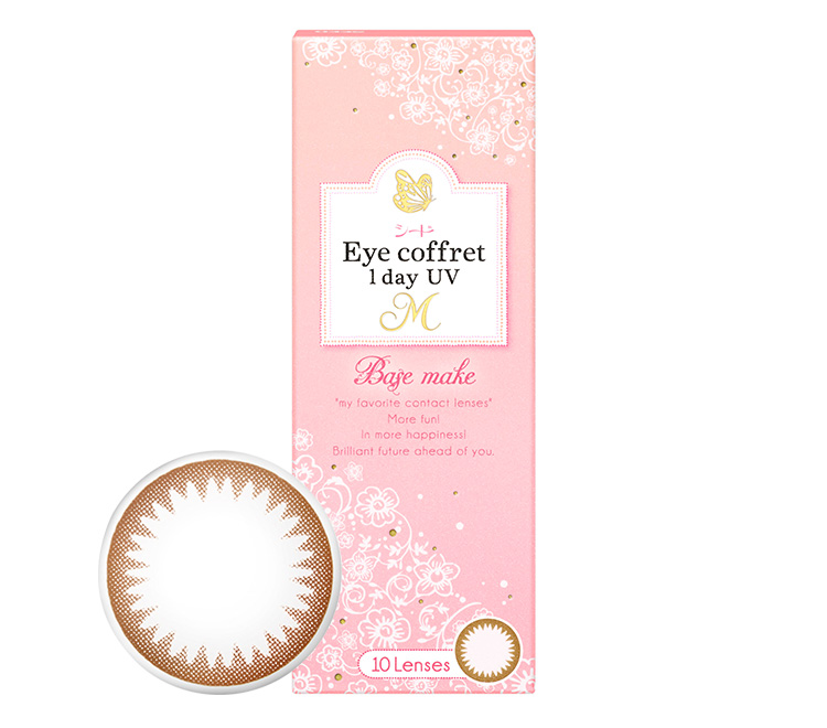 シード Eye coffret 1day UV M